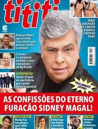 Capa da revista Tititi 29/07/2020