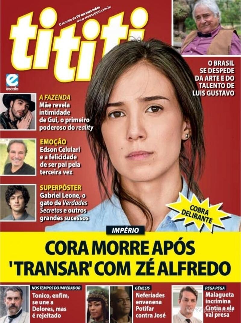 Capa da revista Tititi 22/09/2021