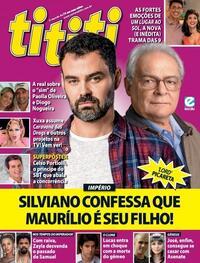 Capa da revista Tititi 13/10/2021