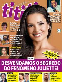 Capa da revista Tititi 14/04/2021
