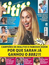 Capa da revista Tititi 24/02/2021