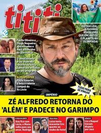 Capa da revista Tititi 28/07/2021