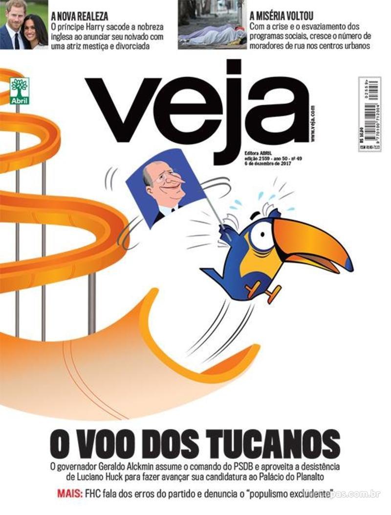 Capa da revista Veja 02/12/2017