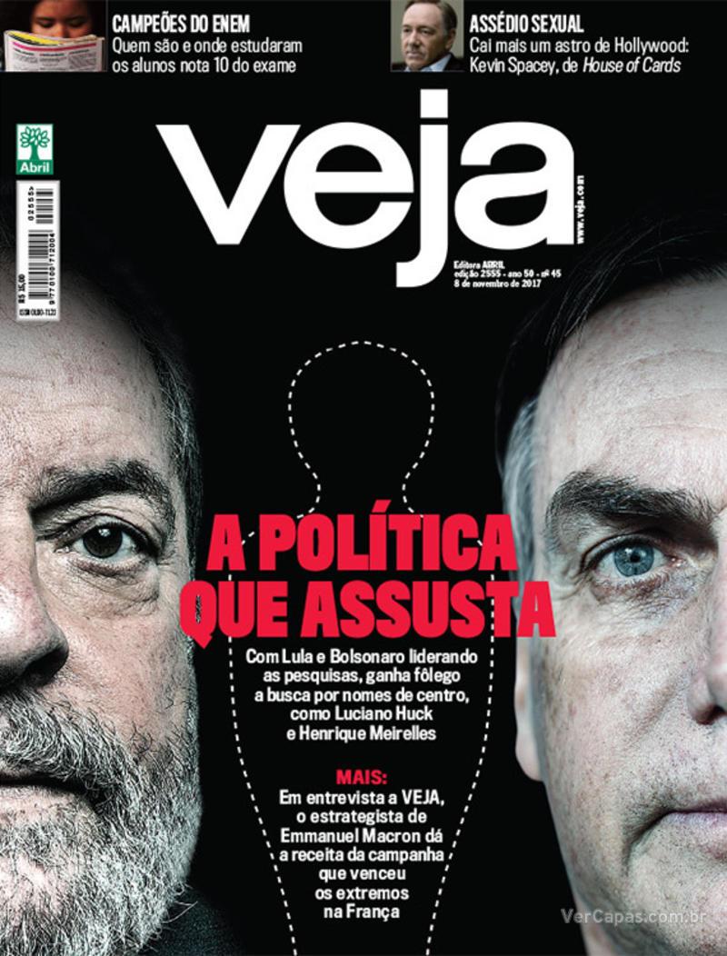 Capa da revista Veja 04/11/2017