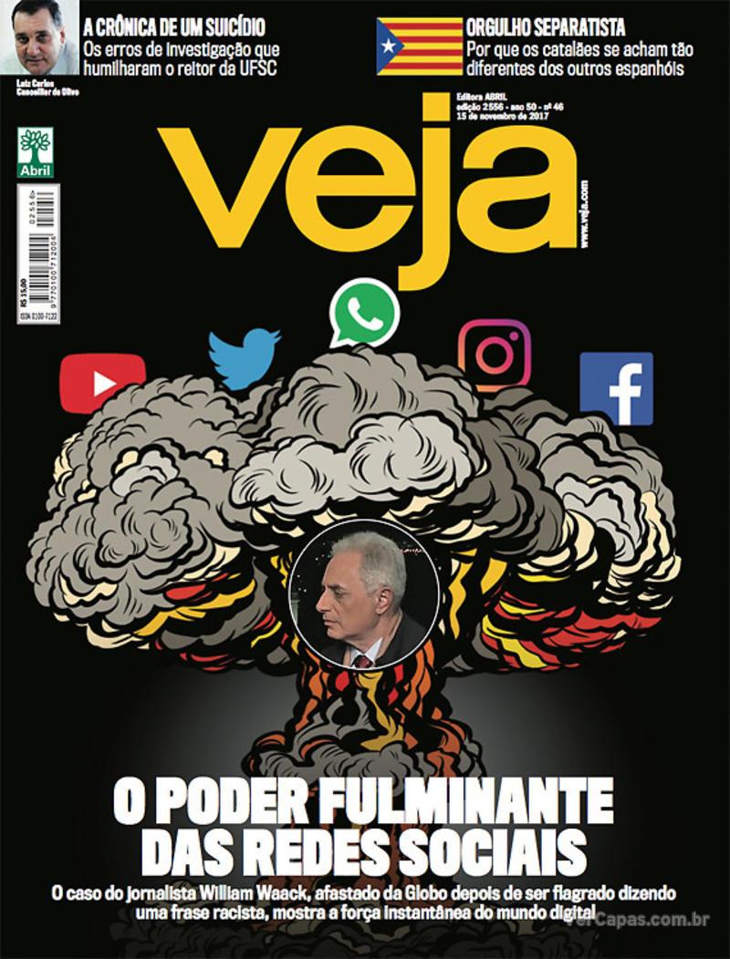 Capa da revista Veja 11/11/2017