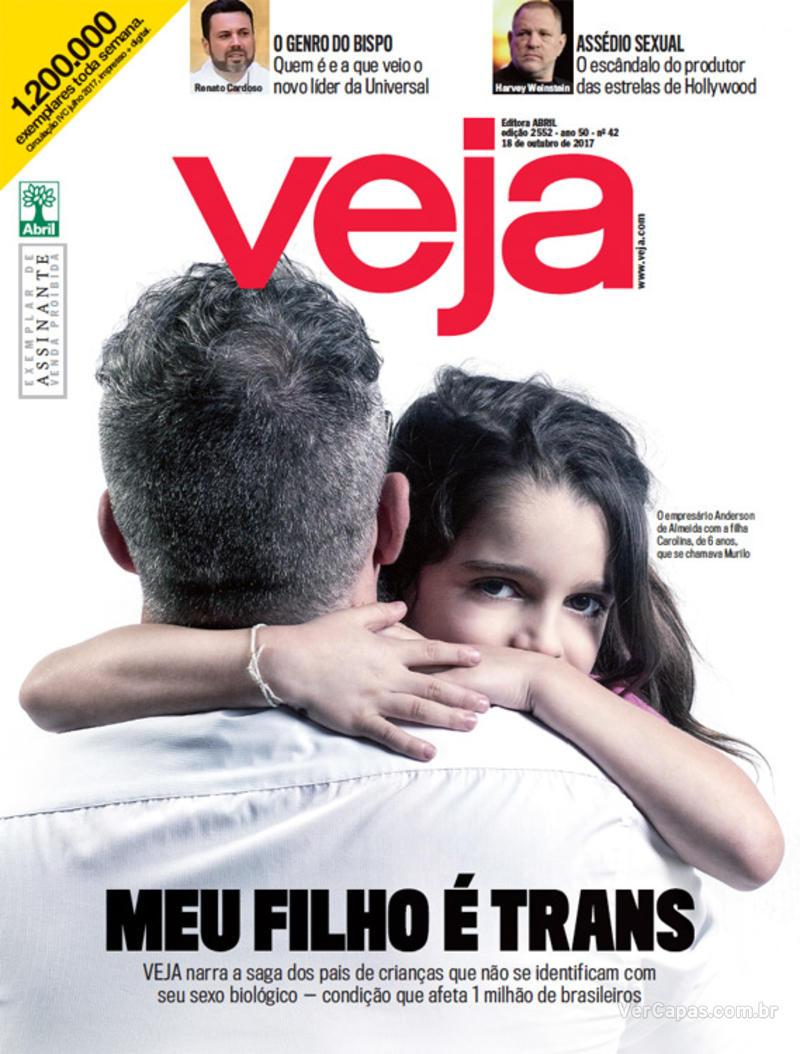Capa da revista Veja 14/10/2017