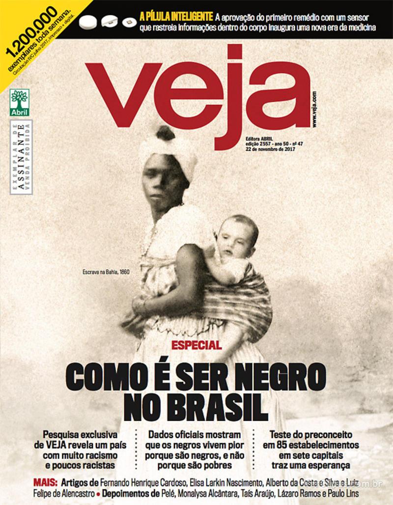 Capa da revista Veja 18/11/2017