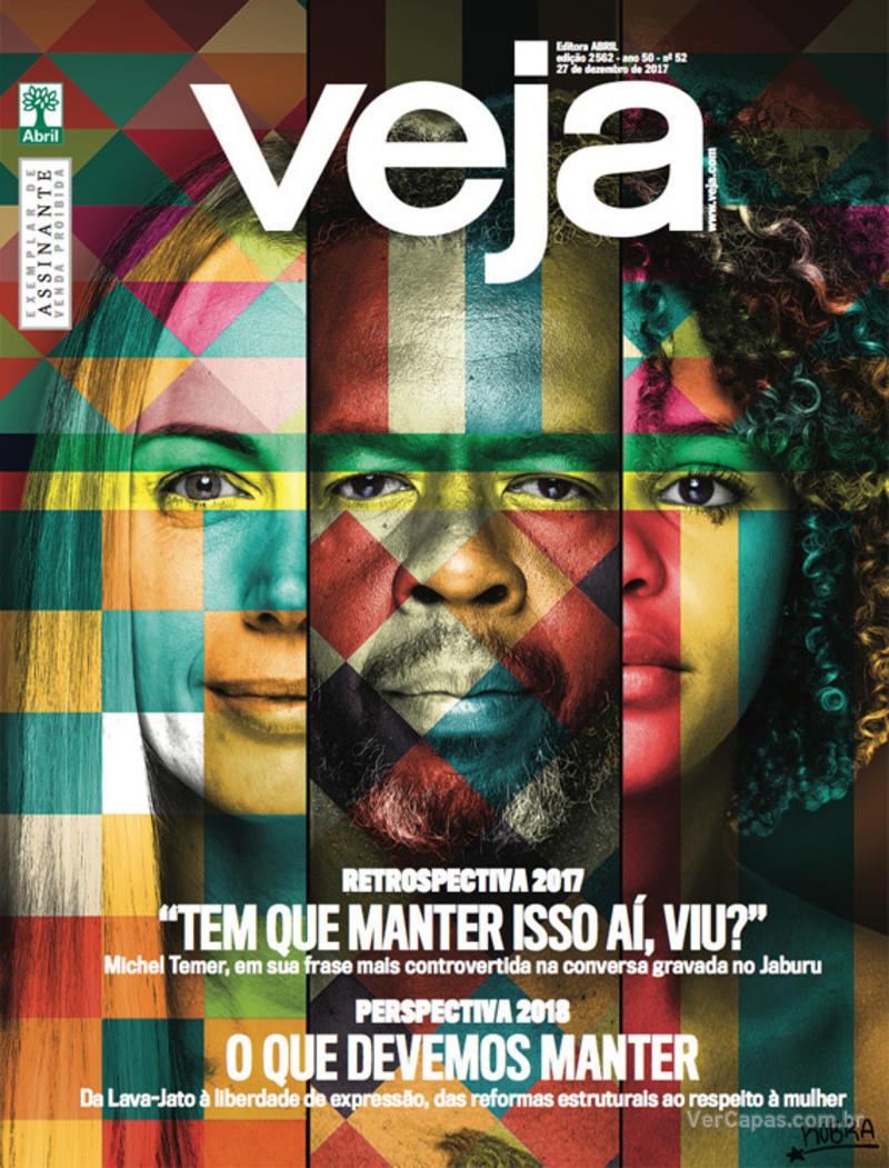 Capa da revista Veja 23/12/2017