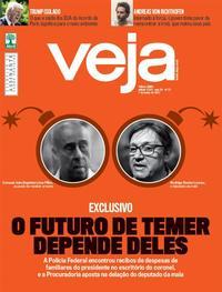Capa da revista Veja 03/06/2017