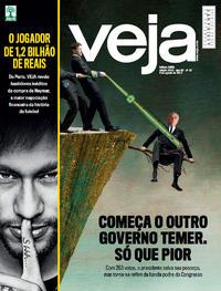 Capa da revista Veja 05/08/2017