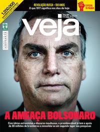 Capa da revista Veja 07/10/2017