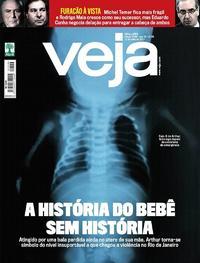 Capa da revista Veja 08/07/2017
