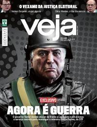 Capa da revista Veja 10/06/2017