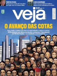 Capa da revista Veja 12/08/2017