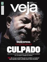 Capa da revista Veja 15/07/2017