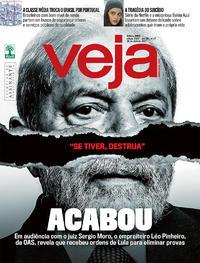 Capa da revista Veja 22/04/2017