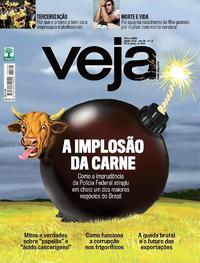Capa da revista Veja 25/03/2017