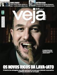 Capa da revista Veja 25/11/2017