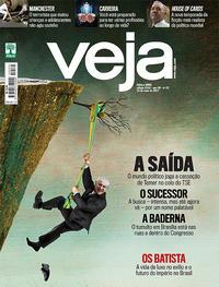 Capa da revista Veja 27/05/2017