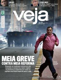 Capa da revista Veja 29/04/2017