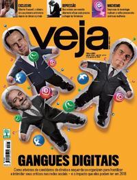 Capa da revista Veja 29/07/2017