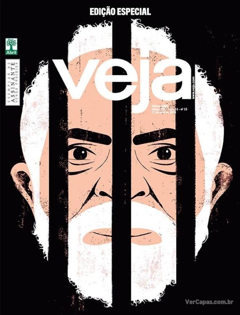 Capa da revista Veja 07/04/2018