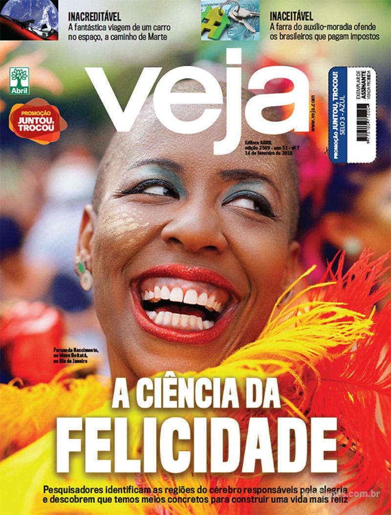 Capa da revista Veja 10/02/2018