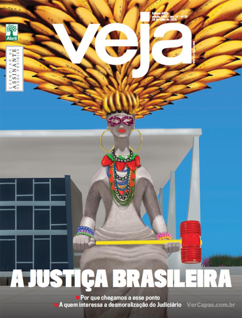 Capa da revista Veja 14/07/2018