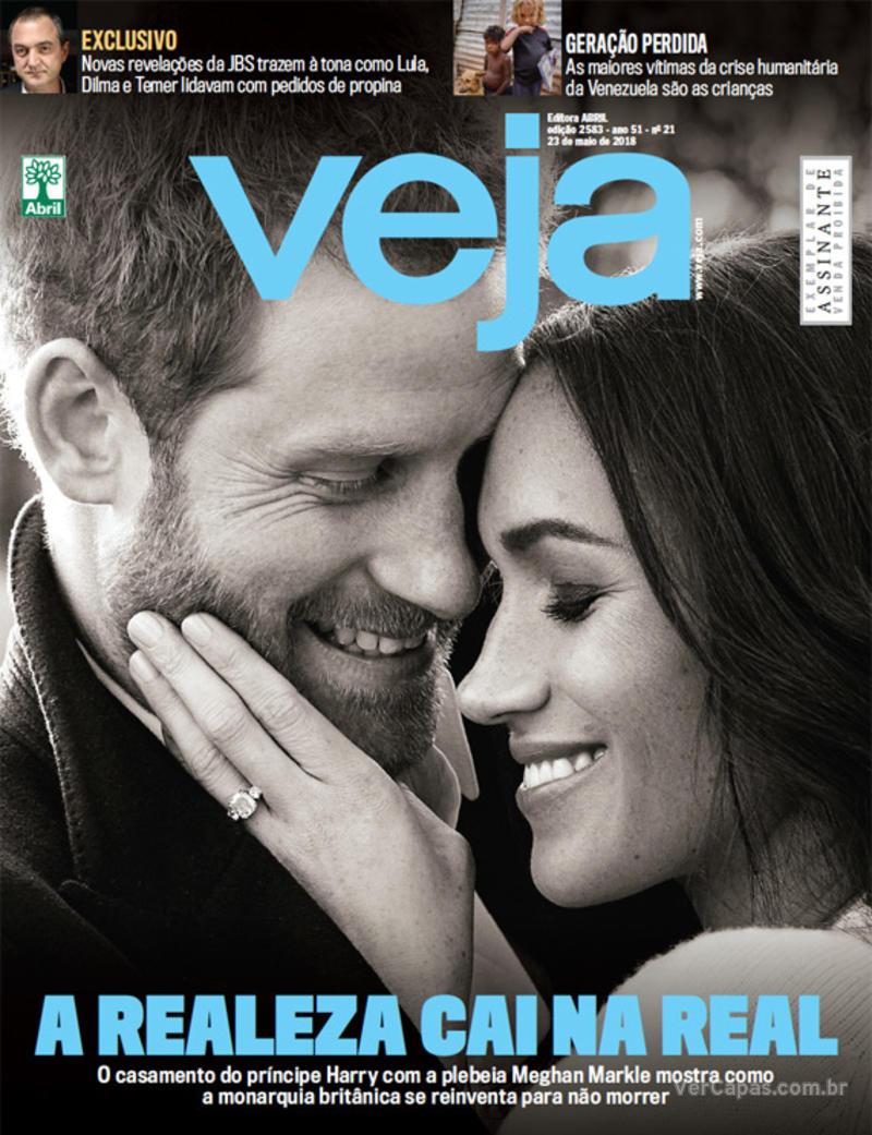 Capa da revista Veja 19/05/2018