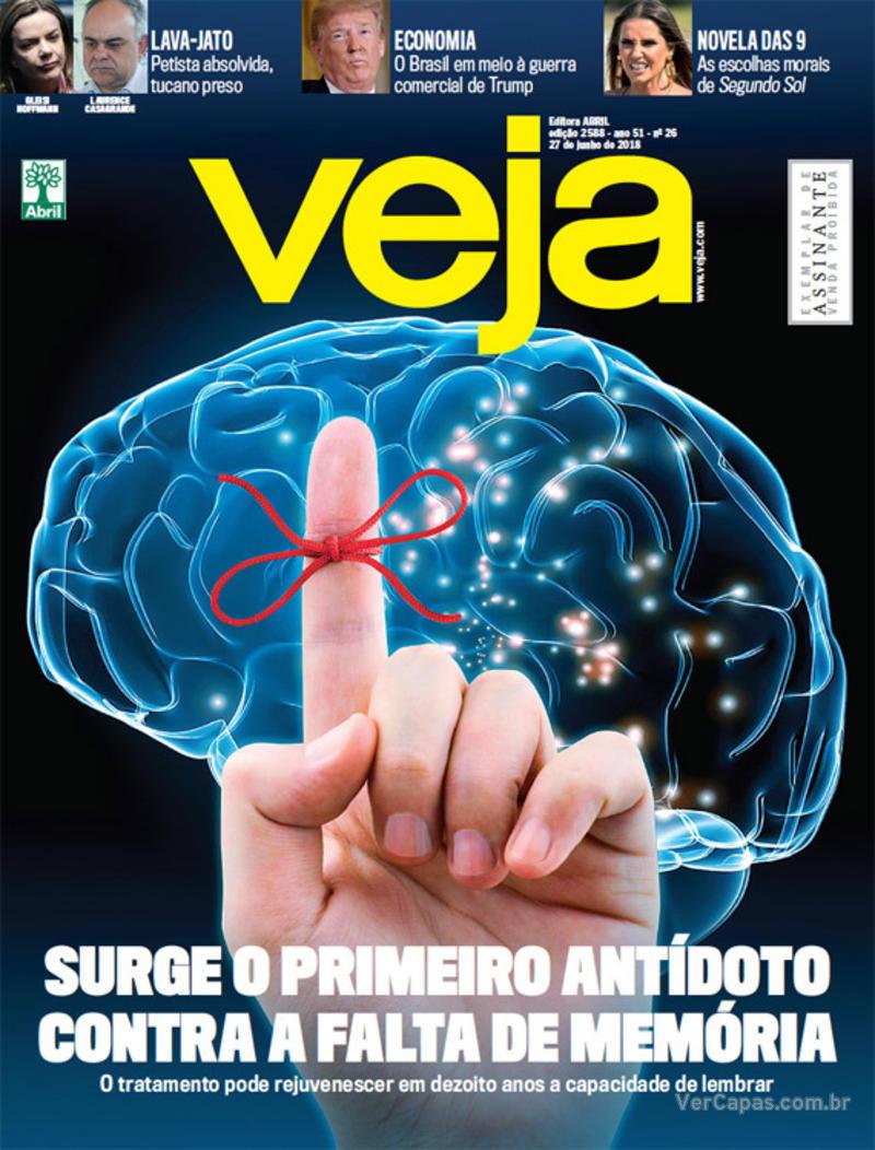 Capa da revista Veja 23/06/2018