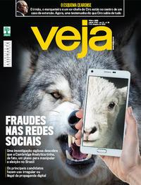 Capa da revista Veja 01/09/2018