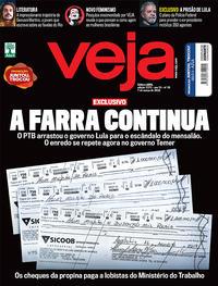 Capa da revista Veja 03/03/2018