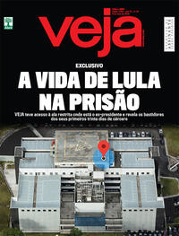 Capa da revista Veja 05/05/2018