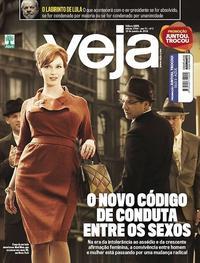 Capa da revista Veja 06/01/2018