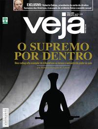 Capa da revista Veja 12/05/2018