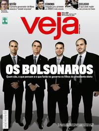 Capa da revista Veja 17/11/2018