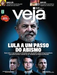 Capa da revista Veja 20/01/2018