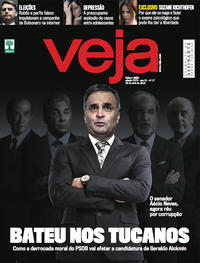 Capa da revista Veja 21/04/2018