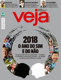 Capa da revista Veja 22/12/2018