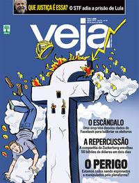 Capa da revista Veja 24/03/2018