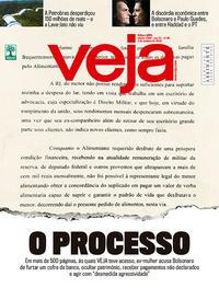 Capa da revista Veja 29/09/2018