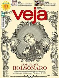 Capa da revista Veja 29/12/2018