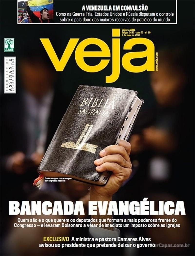 Capa da revista Veja 04/05/2019