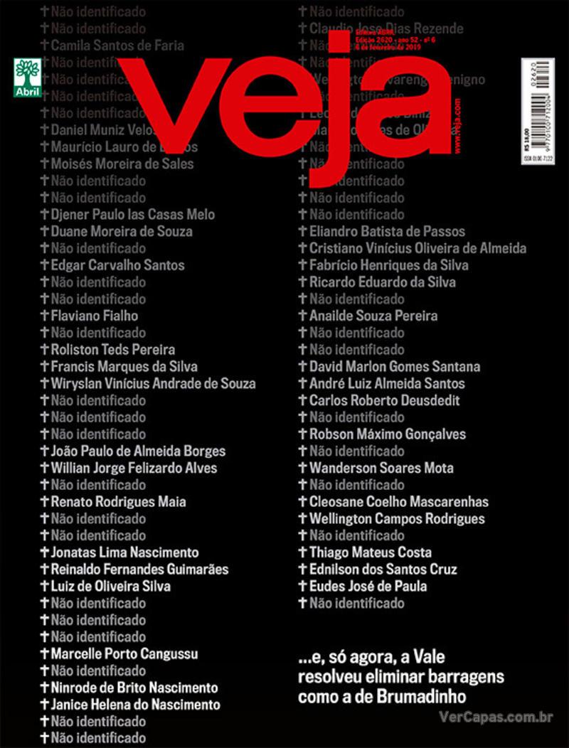 Capa da revista Veja 02/02/2019