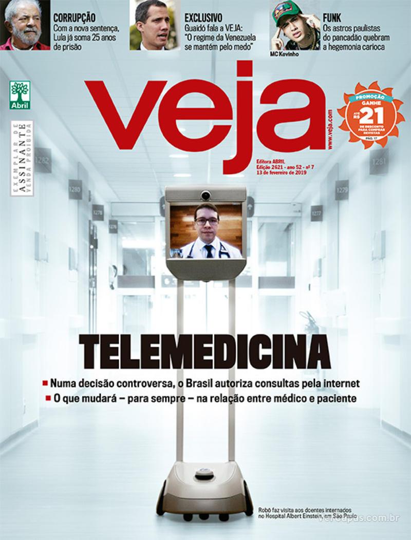 Capa da revista Veja 09/02/2019