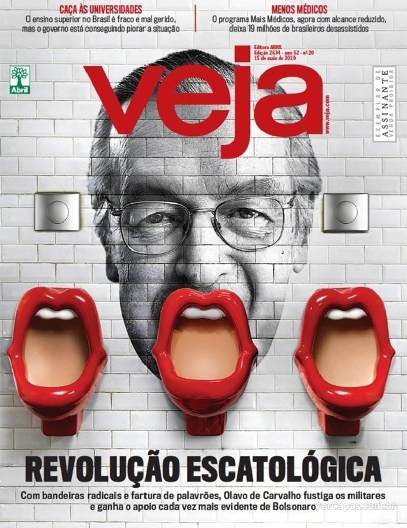 Capa da revista Veja 11/05/2019