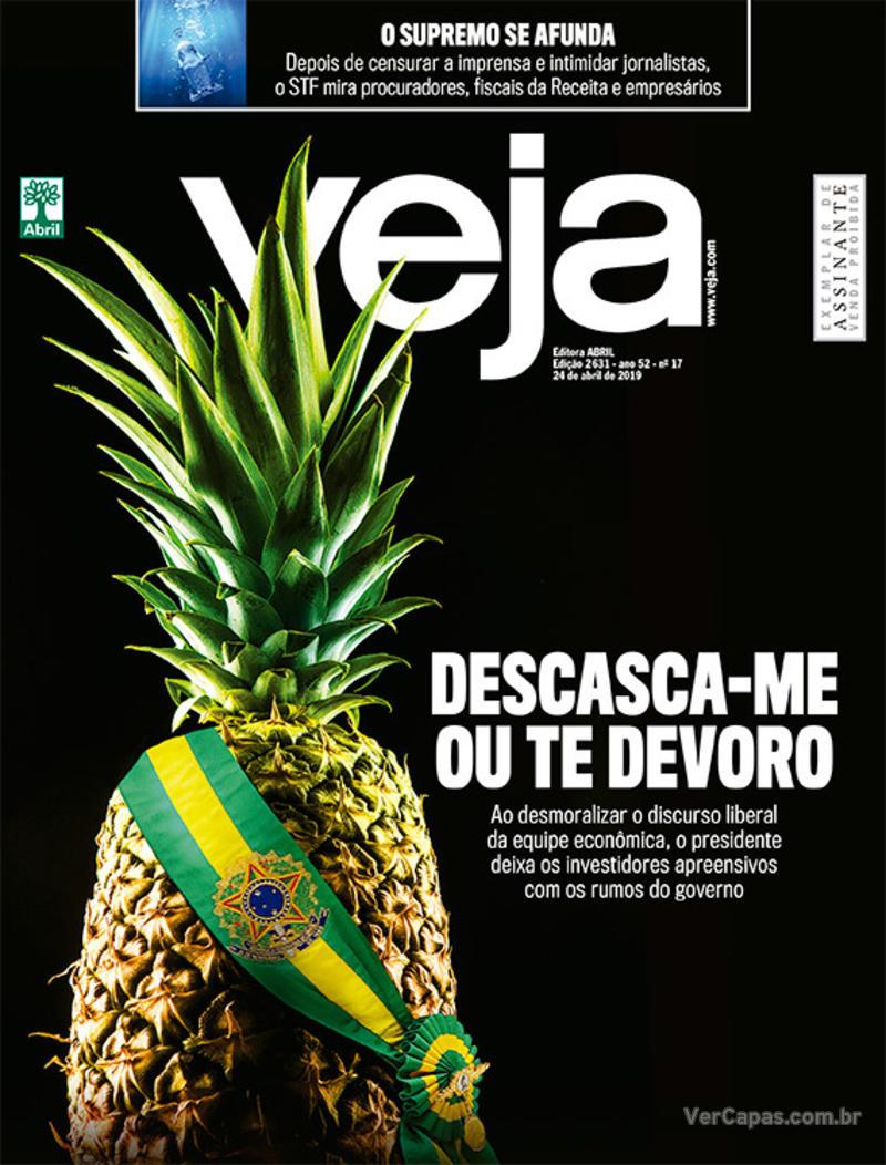 Capa Veja 2019-04-20