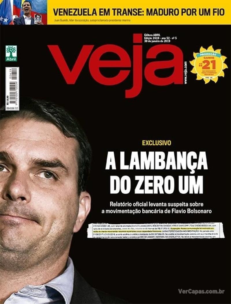 Capa Veja 2019-01-26