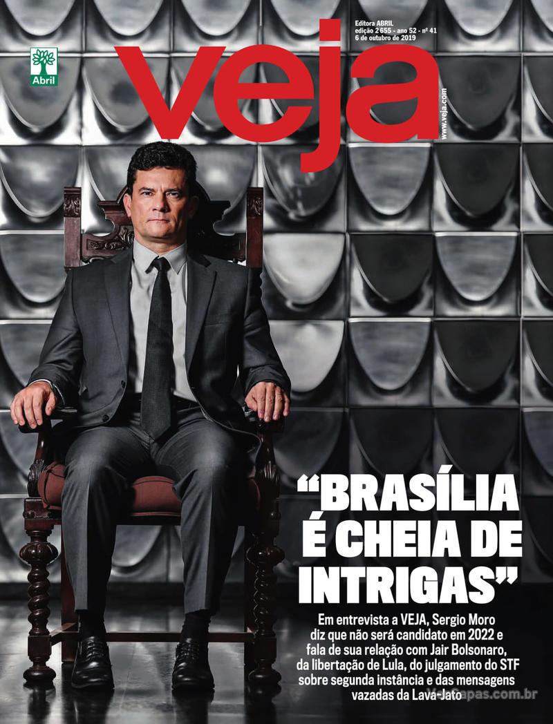 Capa da revista Veja 05/10/2019