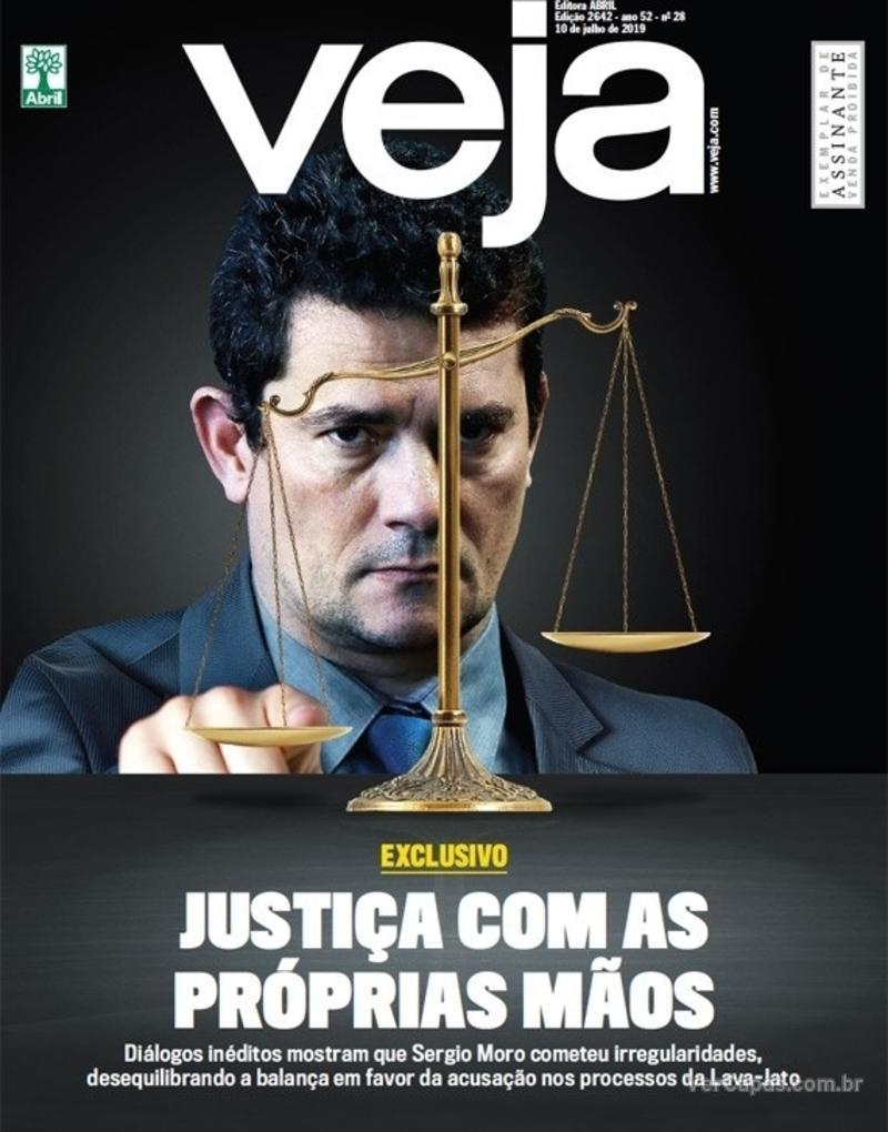 Capa da revista Veja 06/07/2019